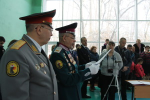 Клятва кадет 29.10.16 ННККС г.Новосибирск